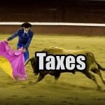 éviter les taxes toreador torero taureau