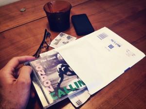 petit paquet enveloppe à bulles CD