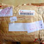 colis paquet enveloppe à bulles chine