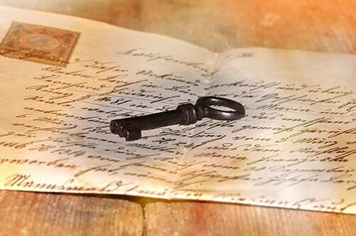 lettre clé