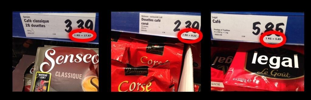 café senseo prix