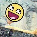 foap argent billet 5 livres sterling