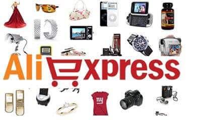 aliexpress logo produits