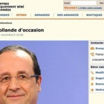 François Hollande le bon coin