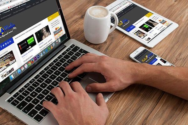 blogueur macbook
