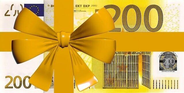 200 euros cadeau