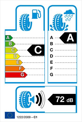 label pneumatique européen