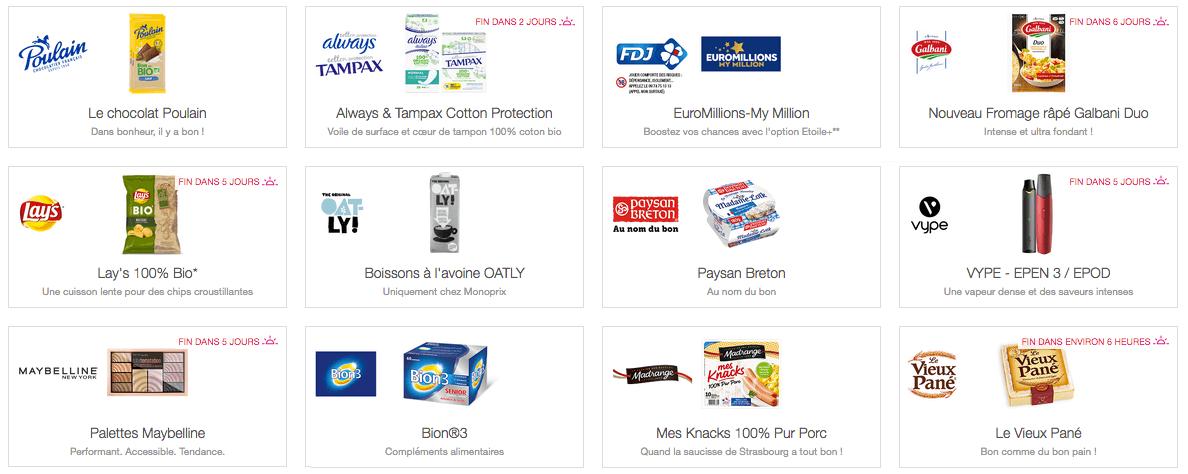 Exemples Produits Shopmium
