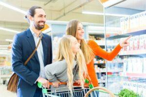 courses supermarché