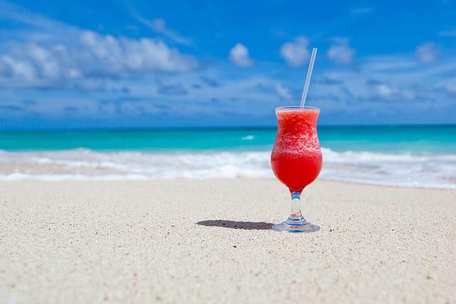 Cocktail plage vacances