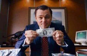 Loup de Wall Street DiCaprio
