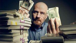 Walter White argent