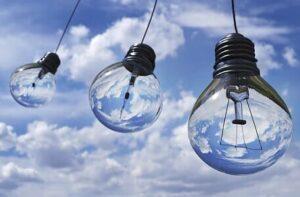 LED ampoules ciel
