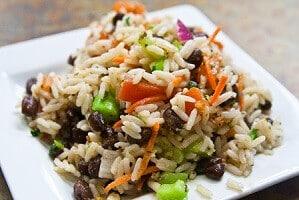salade riz thon niçoise haricots