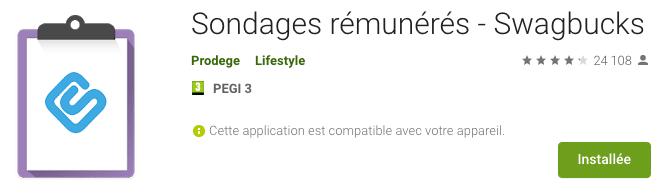 Application Swagbucks