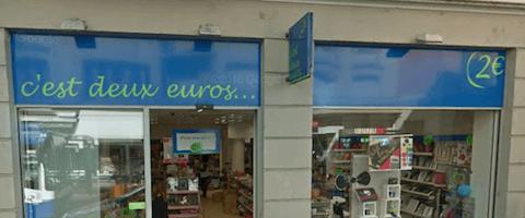 boutique c'est 2 euros