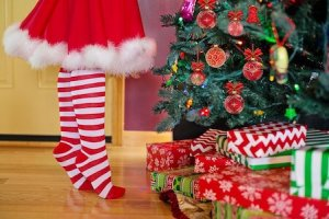 cadeaux de Noël sapin