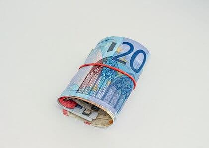 liasse billets 20 euros