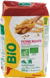 pâtes bio Auchan