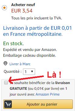 Amazon Prime essai gratuit