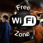 free wifi zone café hotspot