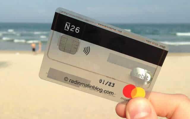 Carte Bancaire Gratuite A Letranger.J Ai Teste La Carte N26 Voici Mon Avis Radin Malin Blog