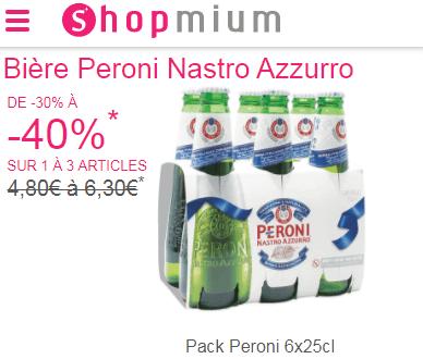Shopmium bière