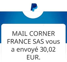 Gaddin paiement PayPal