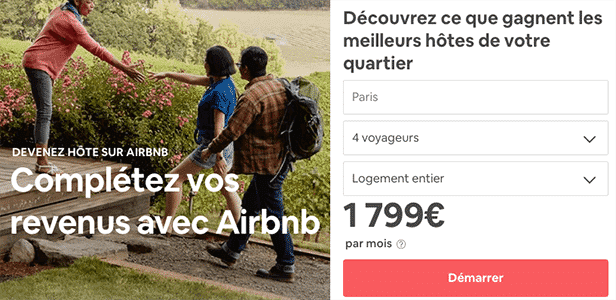 airbnb proprietaire calculatrice