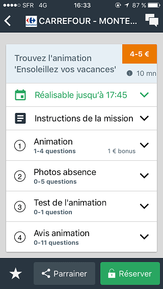bemyeye exemple mission