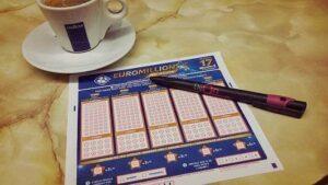 ticket euromillions café stylo