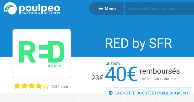 poulpeo red by sfr