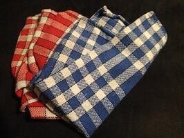 serviettes tissu