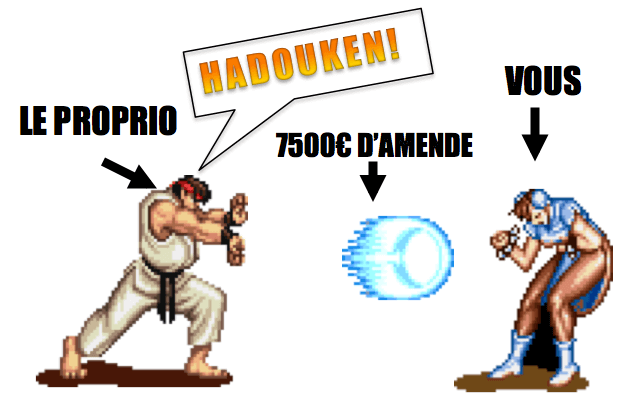Airbnb sous-location amende 7500€ Hadouken
