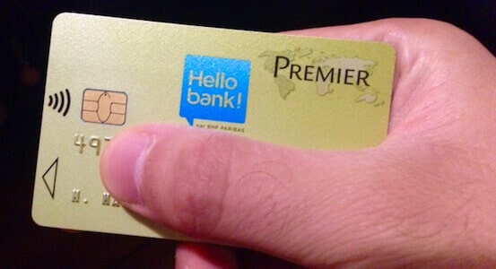 carte visa premier gold hello bank
