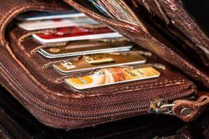 portefeuille cartes crédit