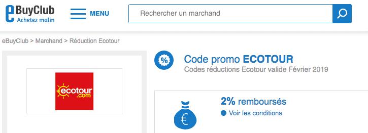 eBuyClub ecotour