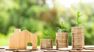 investissement immobilier pièces argent maison temps rentier