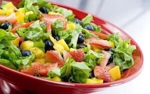 nourriture salade fraise