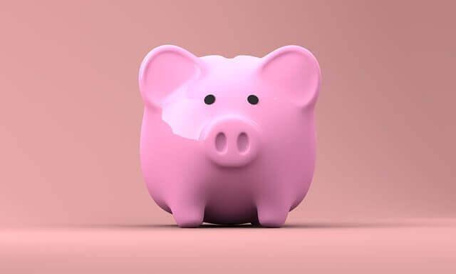 tirelire cochon rose piggybank