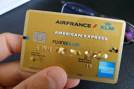 Carte American Express Air France KLM Gold Flying Blue