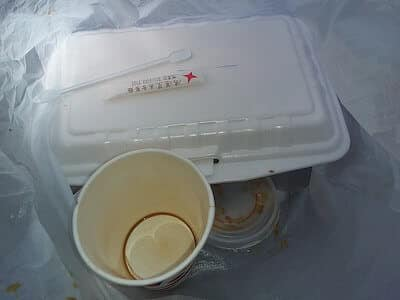 emballage repas à emporter