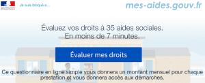 Mes aides sociales gouv.fr