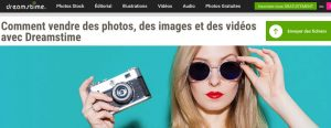 Dreamstime vendre ses photos