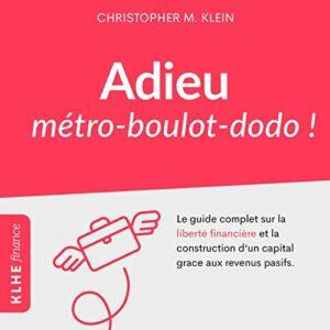 Livre Adieu métro boulot dodo