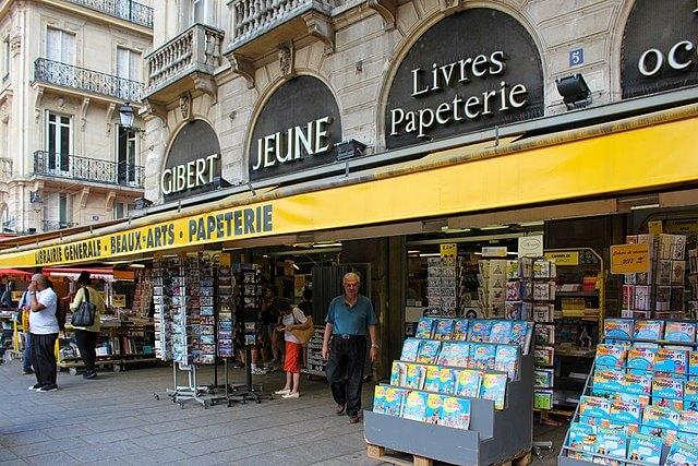 Gibert Jeune Paris