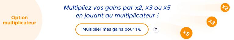 Keno multiplicateur