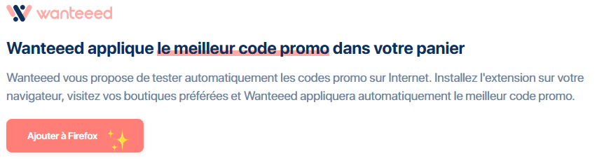 Wanteeed fonctionnement