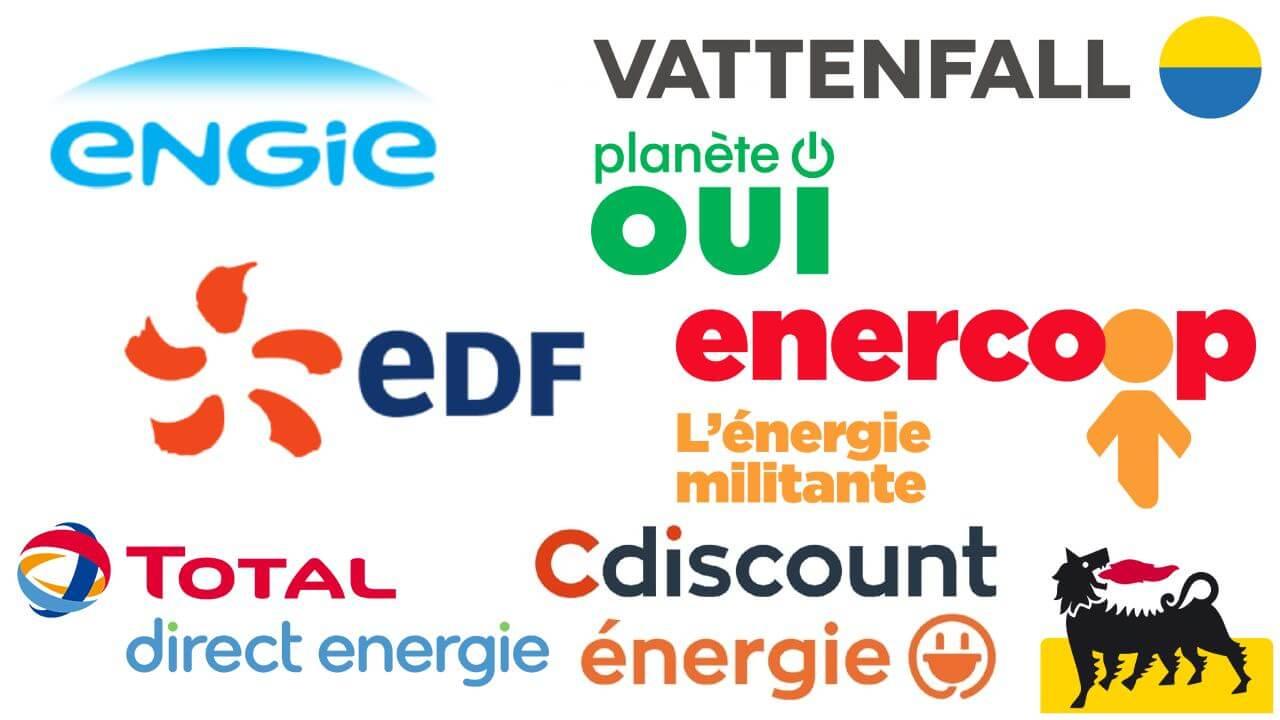 Fournisseurs d'énergie moins cher