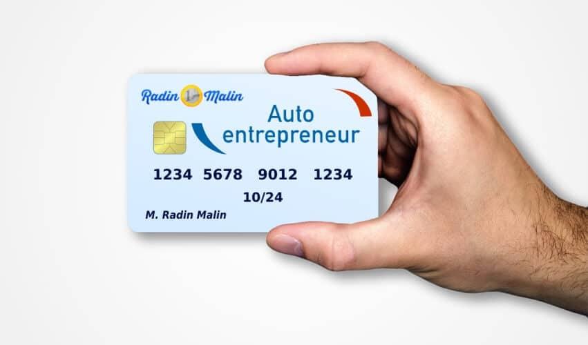 Radin Malin compte gratuit autoentrepreneur
